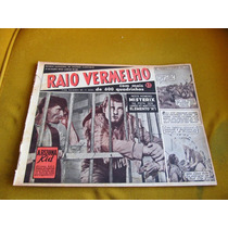Revista Raio Vermelho 26 Editora Abril Janeiro 1952 Faroeste