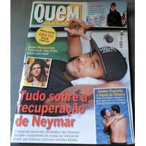 Revista Quem 722 Neymar Bianca Rinaldi Caio Castro Guta S