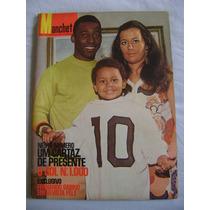 Manchete No.920 Dez 69 Bloch Ed C/poster 1000 Gols Pelé!