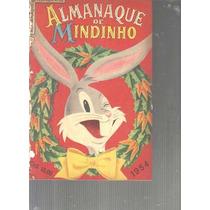 Almanaque De Mindinho 1954 - Ebal - Perna Longa