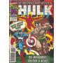 Hulk Nº 144, Ed. Abril, Os Invasores: Namor, Tocha E Capitão