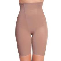 Modelador Cinta Body Bermuda Compressão Ginástica Medida Pmg