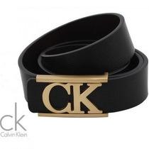 Cinto Calvin Klein Couro!!! Várias Cores Disponíveis