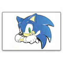 Belt Buckle Sonic The Hedgehog Sonic Metal Bb145251seg