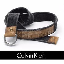 Cinto Masculino Ck Calvin Klein Esport Original Promoção