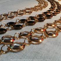 Cinto Feminino De Metal Dourado Tendência Top Pronta Entrega