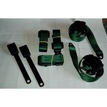 Kit De Cintos De Segurança Para Fusca Verde