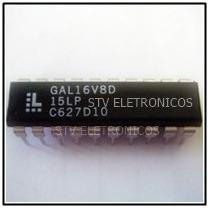 Gal16v8d-25lp Gal16v8d-25lpn Gal16v8d Dip-20 Ic