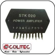 Circuito Integrado Stk 020 Power Amplifier Saida Ci
