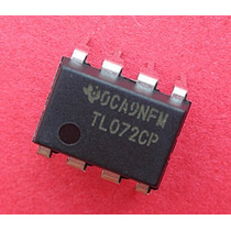 5 Pcs Tl072 Low Power Jfet In Dual Op-amp Dip-8 Freter$ 5,00