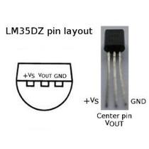 1 Ci * Lm35dz * Lm35 * Lm 35 * Lm 35dz Sensor De Temperatura