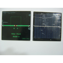 Placa Celula Painel Solar Fotovoltaica 5,5v 180ma 1w