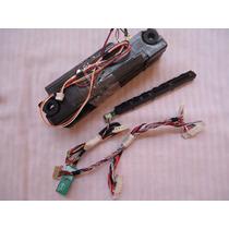Kit Cabo Flat Lvds Auto Falante Sensor Panasonic Tc-l24x5b