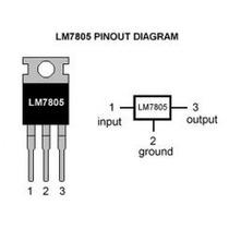 Regulador De Tensão 5v Lm 7805 Arduino Pic 5 V