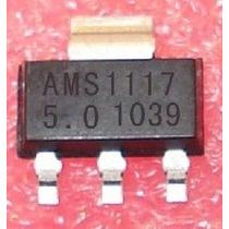 15x Ci Ams1117 5.0v = As1117-50c Regulador Sot 223