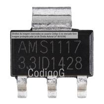 10 Peças Ci Asm1117 3.3v Regulador De Tensão Smd Sot 223
