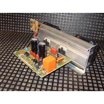 Amplificador Tda7294 200wts Com Dissipador E 2 Coolers