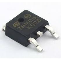 Regulador De Tensão Smd St L78m05 - 7805 Smd Dpak