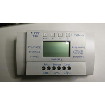 Controlador De Carga Painéis Solares 40 Amperes Mppt - Novo