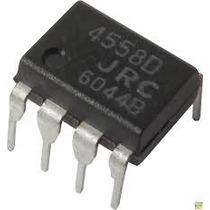 4558 - Rc 4558 - Rc4558 - Ba4558 - Jrc4558 - Dip 8 Pinos
