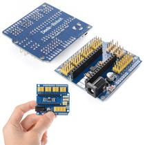 Nano Io Sensor De Expansão Protetor Para Arduino Uno R1