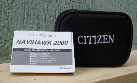 Citizen Bl5251 Titanium E Couro Eco-drive Bl5251-00l