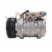 Compressor 10p15 Denso 3 Orelhas Fiat Palio 1.6 Sem Juros