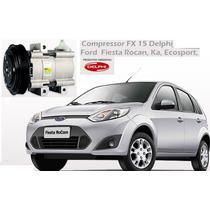 Compressor Fiesta / Ka / Ecosport /f250 Gasolina