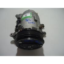 Compressor De Ar Condicionado Novo Palio 1.6 16v E-tork 2015