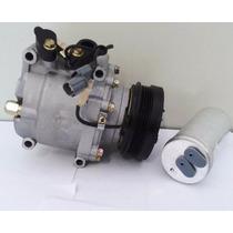 Compressor Honda Civic 94 + Filtro Secador - Produto Novo