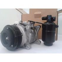 Compressor Universal 6p148 Santana + Filtro Secador - Novo