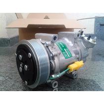 Compressor Ar Condicionado Sd6v12 Citroen C3 Polia 6pk 12v