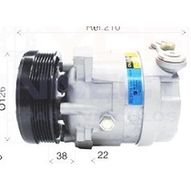 Compressor Gm Vectra 94/95/96 Harisson V5 - Novo Sem Juros