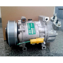 Compressor Sanden Sd6v12 Citroen C3 Polia 6pk 12 Volts Novo