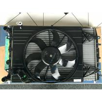 Conjunto Radiador Ventoinha Condensador Gol G5 /polo/ Fox/..