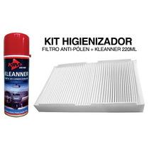 Kit Filtro Ar Condicionado Novo Uno 2010 / Sandero 2014 /