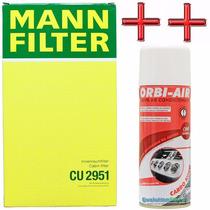 Filtro Ar Condicionado Fiat Marea Brava + Spray Higienizador