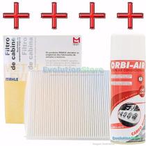 Filtro Ar Condicionado Cobalt Cruze Onix Spin + Higienizador