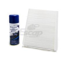 Filtro Ar Condicionado + Higienizador Nissan Tiida 07/