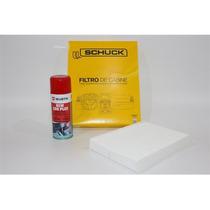 Filtro Ar Condicionado+higienizador Wurth Limão - Gol G5