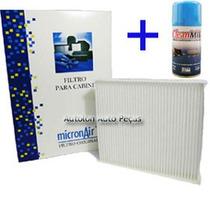 Kit Filtro Cabine + Higienizador Vw Voyage 2012/... Mp 400