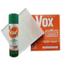 Filtro De Ar Condicionado Gol G5, Fox, Polo + Higienizador