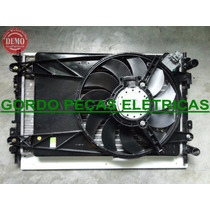 Radiador+defletor+motor Da Ventoinha Fiesta/ Ecosport Com Ar