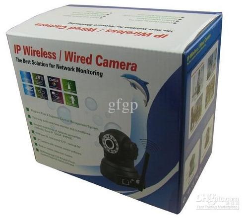Câmera Ip Wi-fi Sem Fio Wireless Movimento Branca - Wanscam