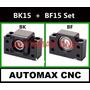 Kit Mancal Fuso Esfera Cnc Router Bk15 + Bf15