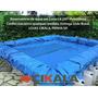 Lona Lago Tanque Criação Peixe Manta Impermeável Rede 3x3