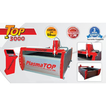 Mesa De Corte Plasma / Oxicorte Cnc Top3000 Bndes