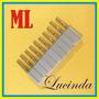 10 X Fresa Topo Raiada 3mm X12mm - Tugstenio / Titanio - Cnc