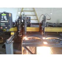 Máquina Corte Cnc White Plasma Oxicorte Mach