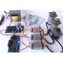 Kit 3 Drive Cnc Tb6600 Completa 3 Motores 2 X 19kg+1 De 8,5k